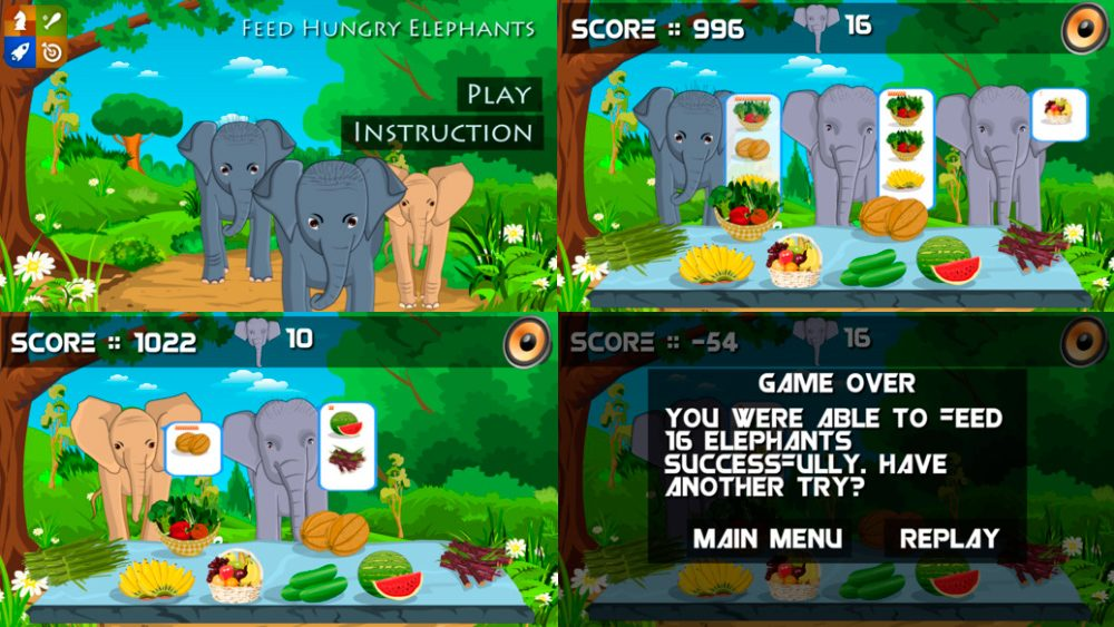 Feed My Elephants para iOS