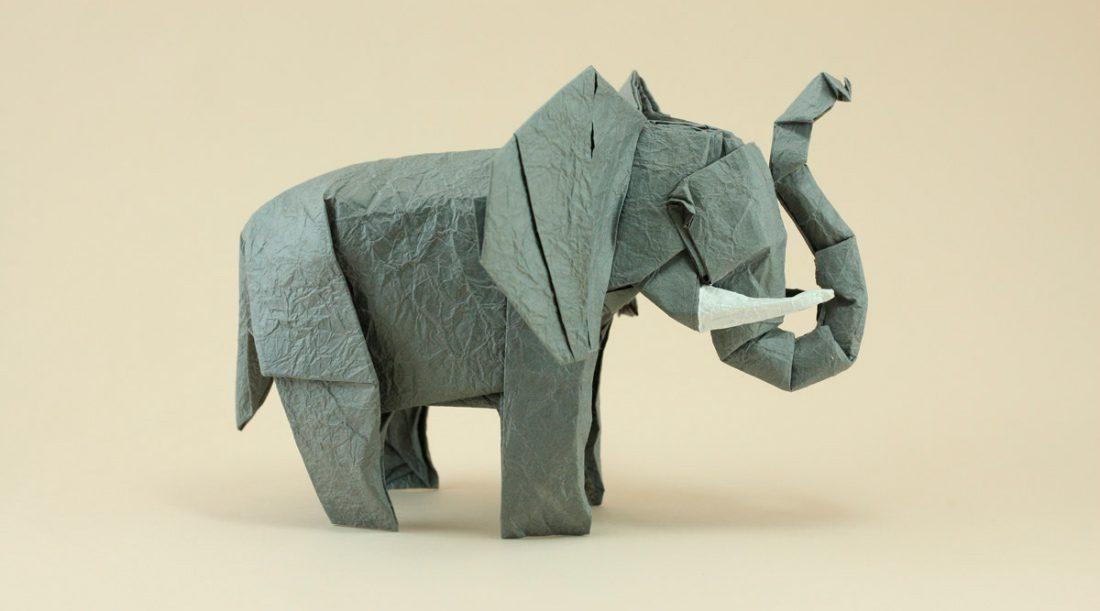 Papiroflexia de elefantes